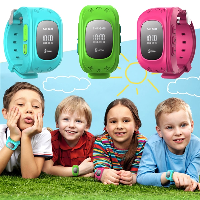 Children Anti-Lost GPS Positioning Smart Wristwatch SOS Security Monitor