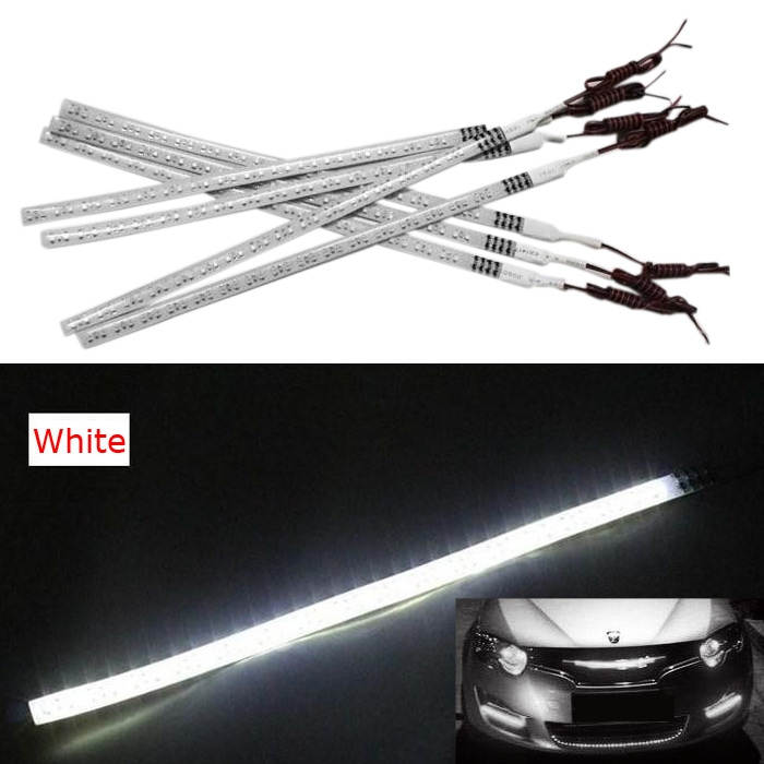 1210SMD Car Knight Rider Light 48 LED Running Flash Strip Lamp 60cm White