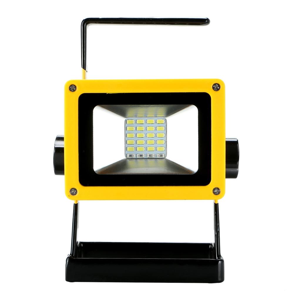 LED Work Light 60W Portable Rechargeable Battery Power US EU Plug Cordless Lamp