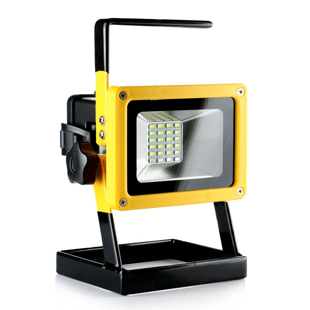 about rechargeable portable 24 led 30w work light cordless flood light. Black Bedroom Furniture Sets. Home Design Ideas