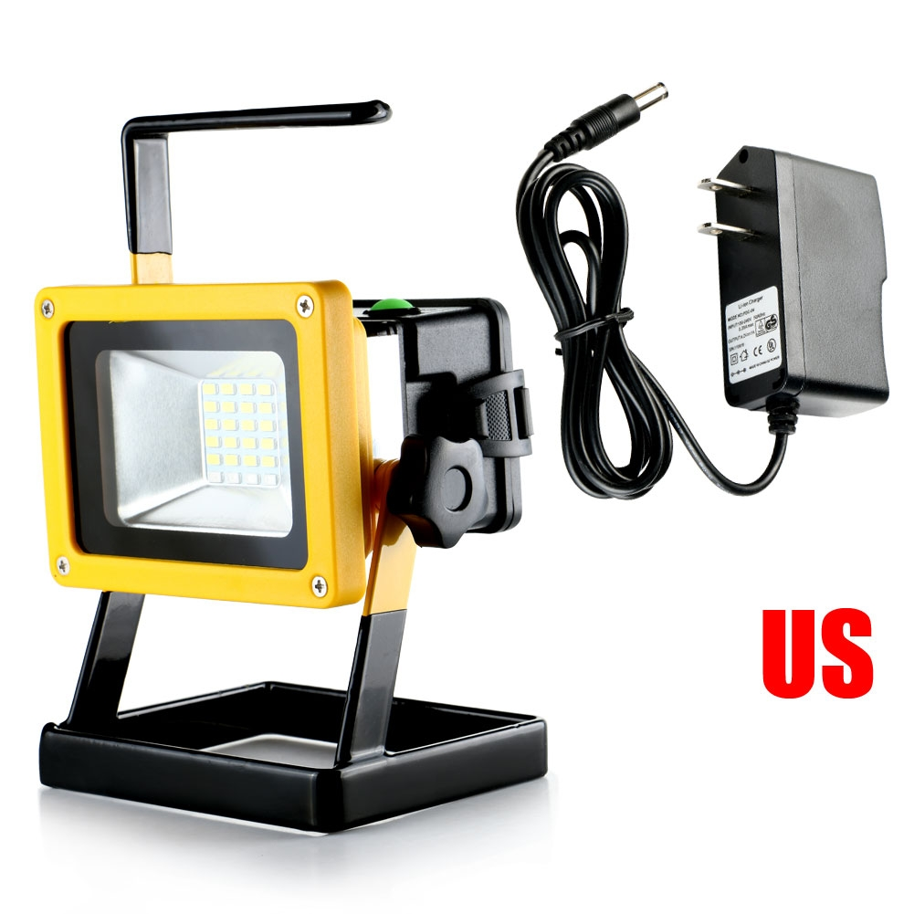Portable Cordless Rechargeable Led Work Light Work Lamp W: Rechargeable Portable 24 LED 30W Work Light Cordless Flood