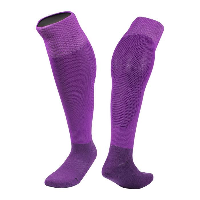 Men's Mesh Casual Towel Bottom Soccer Football Long Socks ...