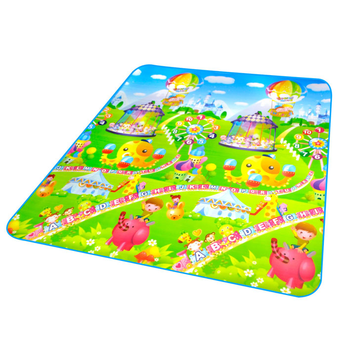Baby Puzzle Play Floor Mat Cushion Activity Happy Farm Rug
