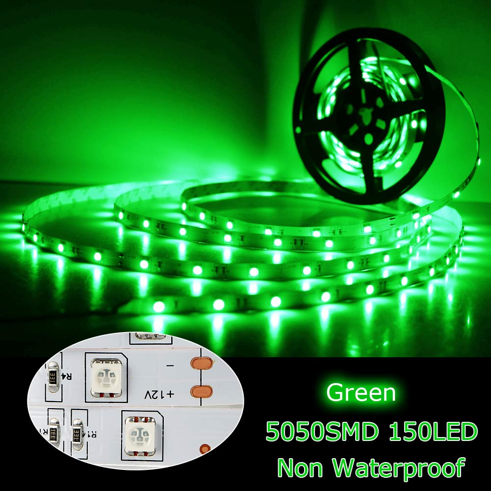5m 5050 smd super helle flexible 150 led streifen nicht wasserdicht dc 12v ebay. Black Bedroom Furniture Sets. Home Design Ideas