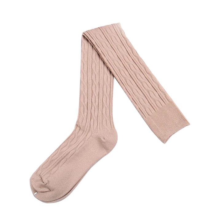 Women Fashion Knit Over Knee Thigh Stockings Spiral Pattern High Socks 66 eBay