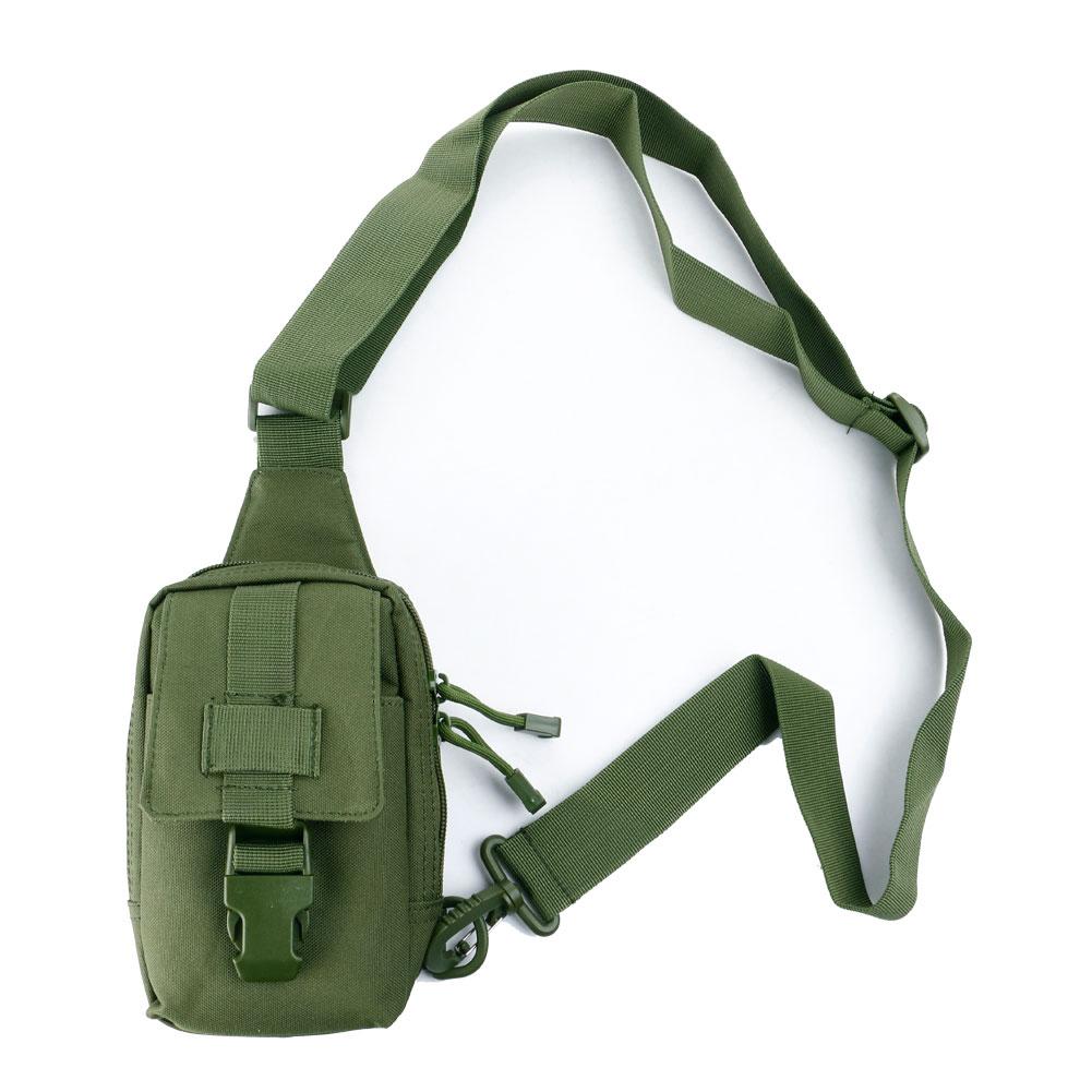 men canvas tactical military messenger shoulder sling