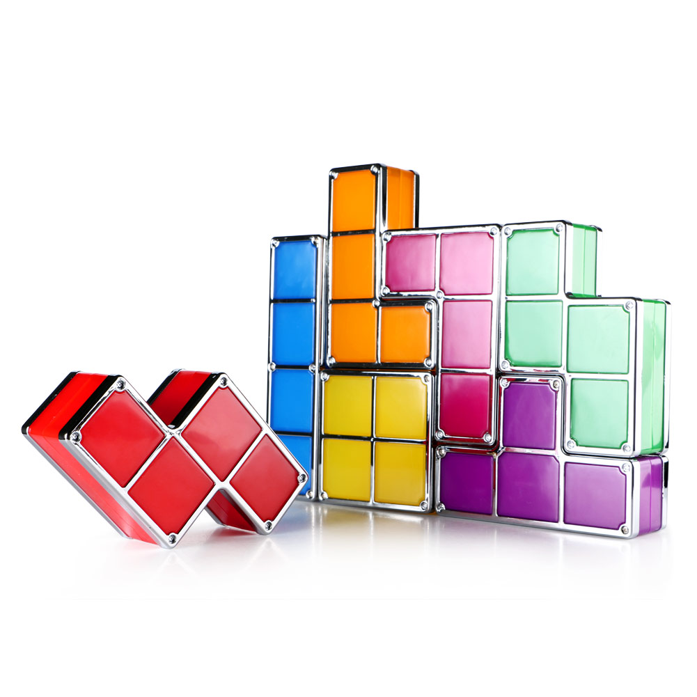 Cool Individual Tetris Diy Stackable Retro Game Style Led