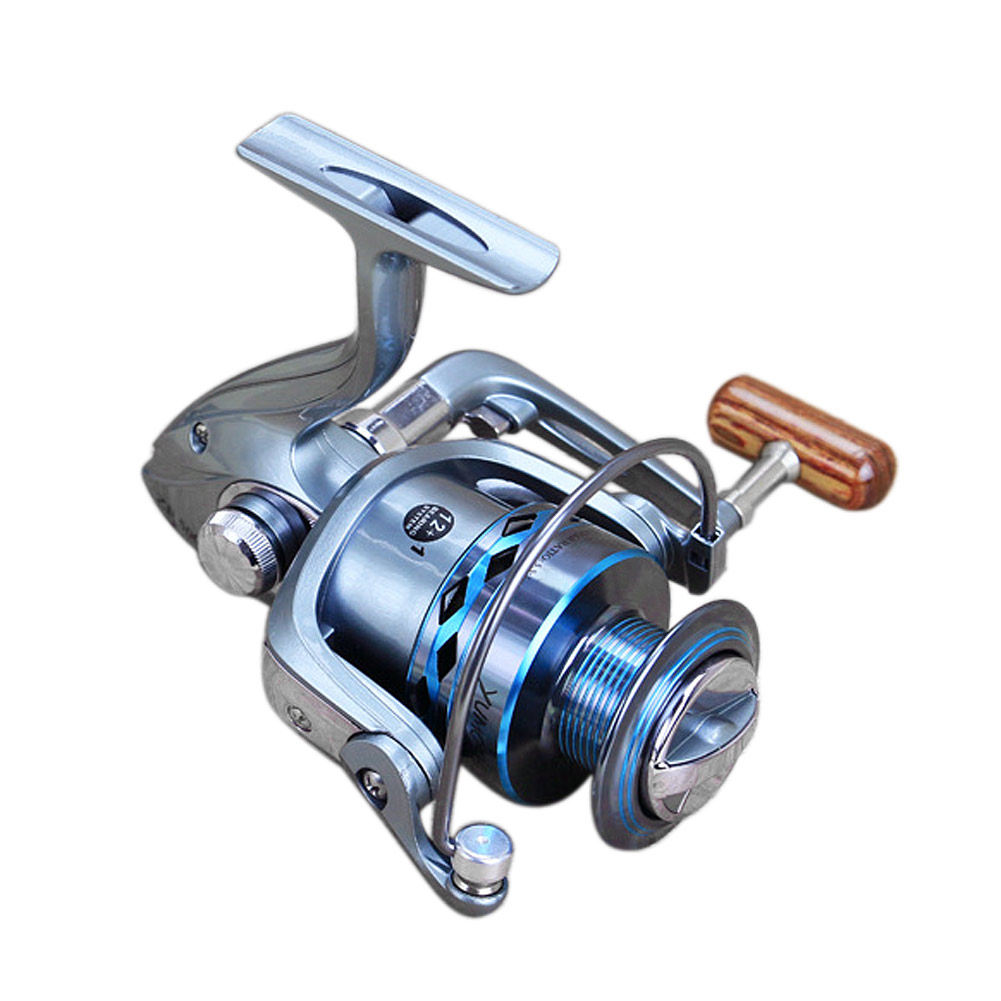 13bb left right metal casting surf fishing spinning reel for Fishing reel bearings