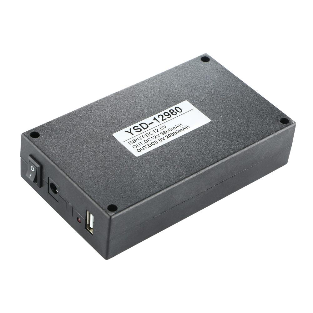 DC 5V/12V 2 In 1 USB Rechargeable 20000Mah Li-ion Battery ...