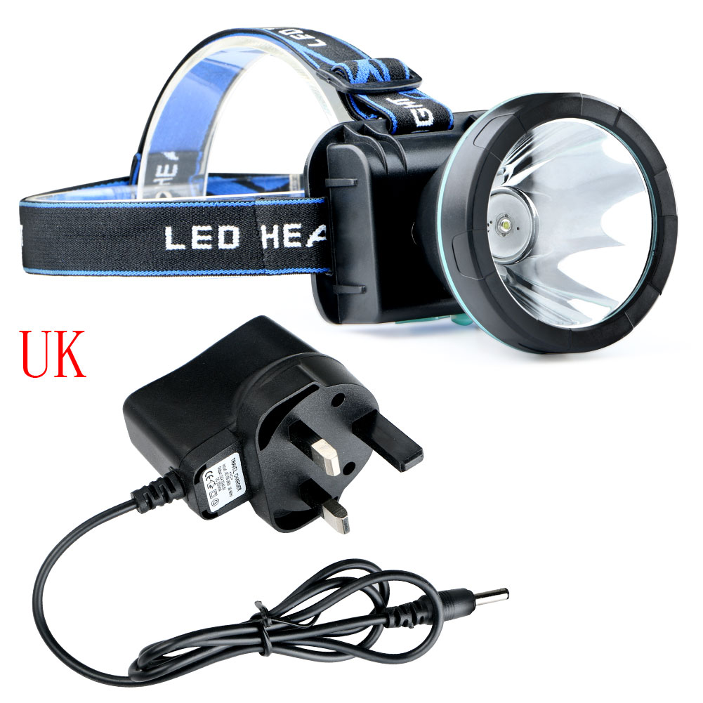 3000 Lm Waterproof LED Headlight Rechargeable Camping ...