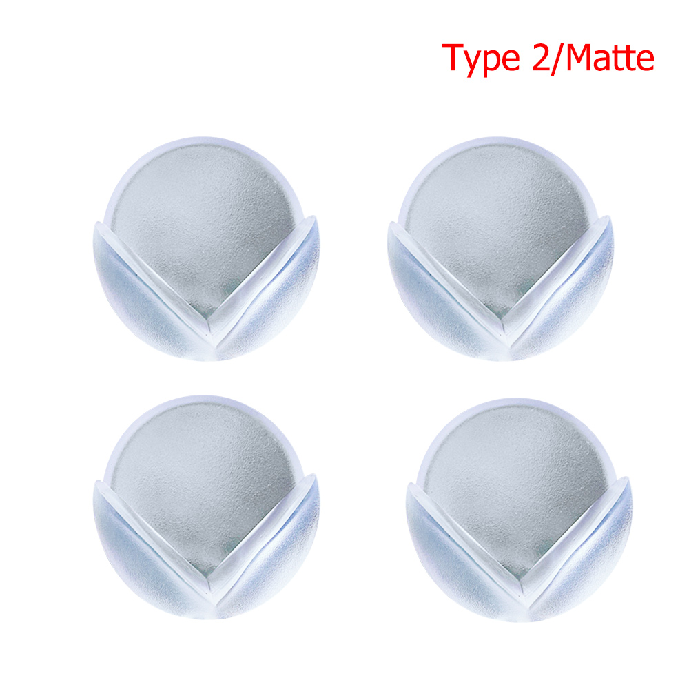 4pcs Clear Baby Corner Guards Child Proofing Table Desk Protector Cover Bumpers