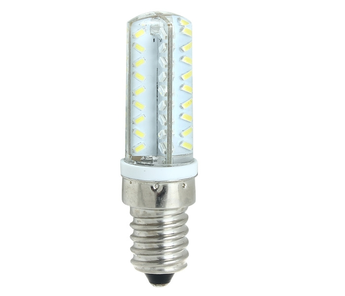 7W Super Bright Dimmable 3014 SMD E14 Base AC 220V 72 LED Bulb Light Lamp