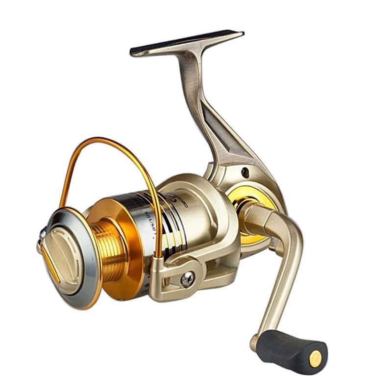 10+1 Portable Ball Bearing Full Metal Rocker Arm Spinning Metal Fishing Reel