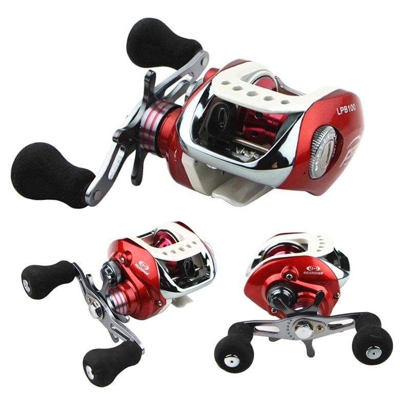 12+1 BB Ultralight Spool LPB1000 Left/Right Handed Baitcasting Fishing Reel