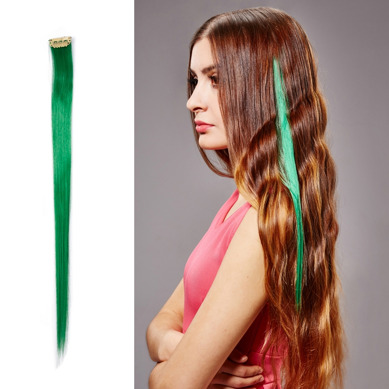 Discount China Wholesale Highlight 50cm Single Clip In Hair