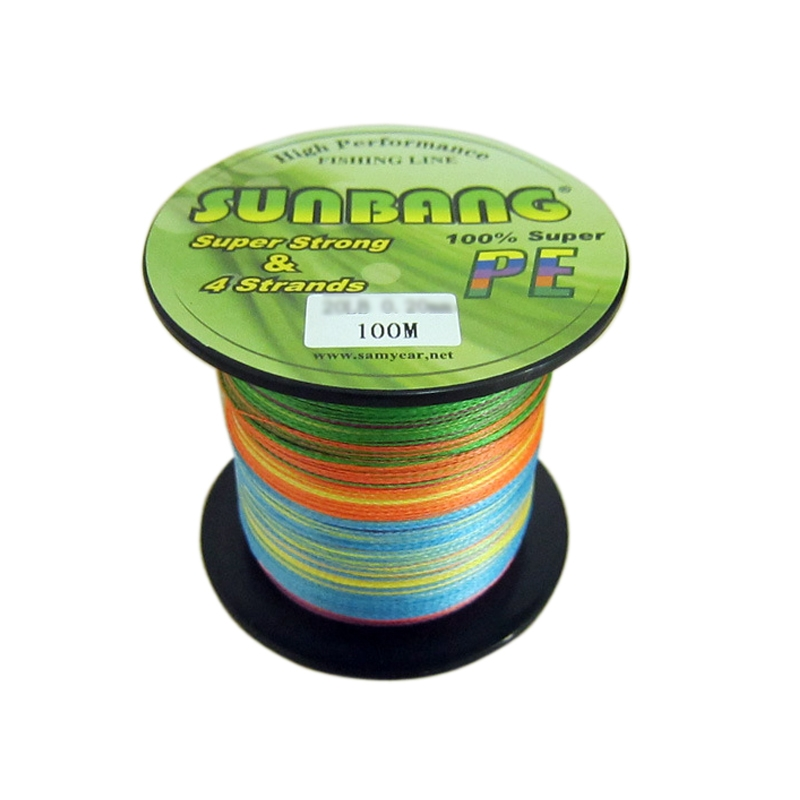 100M 110Yards PE 4 Strands Superpower Quality Braided Fishing Line