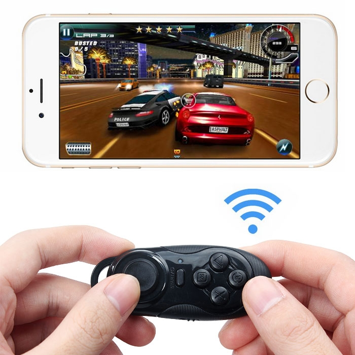 Wireless Bluetooth Selfie Shutter Remote Control Gamepad For iOS Android