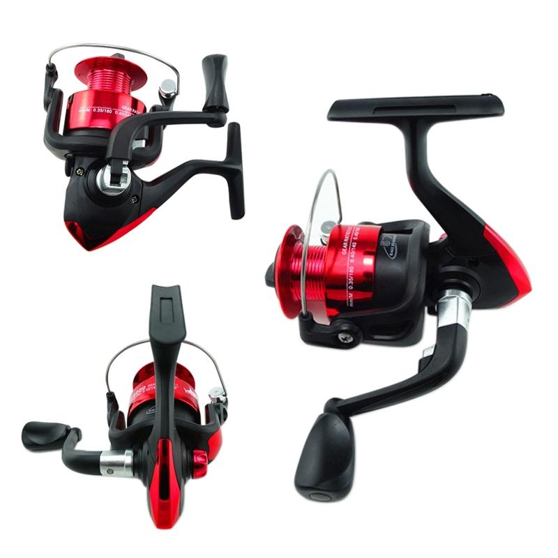 Portable 5 BB Ball Bearing High Power Gear Spinning Fishing Reel AC1000