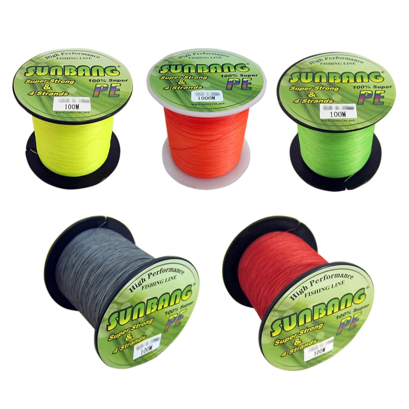 Colored Super Strong 100M 100% PE Braided Boat Fishing Line Spectra #0.6