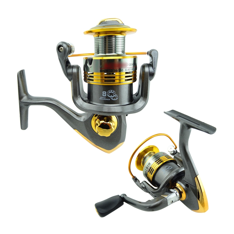 8BB Long Cast Spinning Fishing Reel Left/Right Interchangeable Arm AC Serie