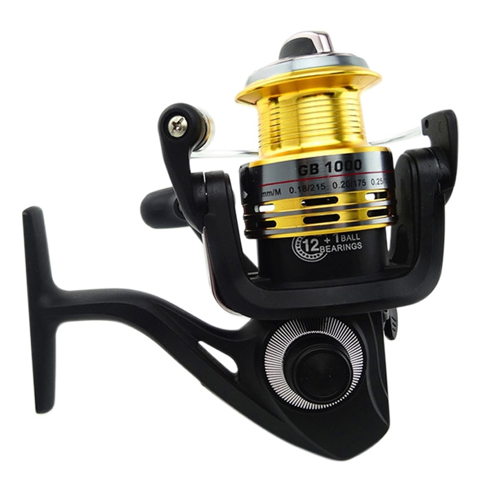 New Portable High Speed 12+1RB Ball Bearing Spinning Fishing Reel GB Serie