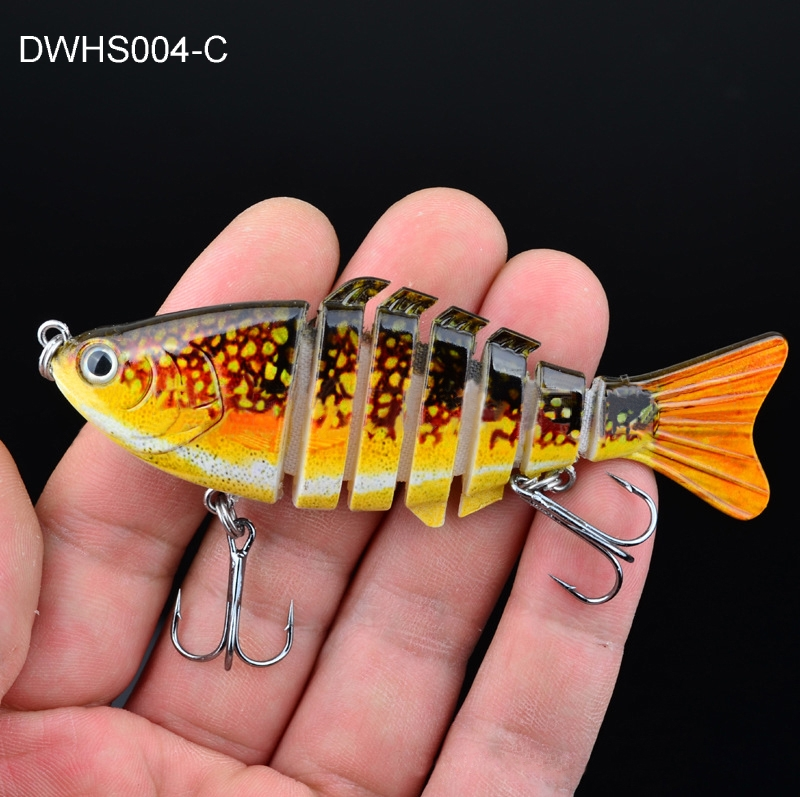3.94? Multi Jointed Segment Section Fishing Lure Swimbait Topwater 12.5g