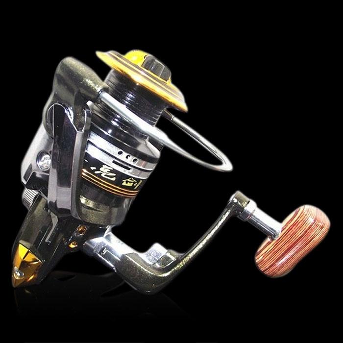 LJ Series 12BB+1RB Bearing Metal Spinning Reel Pocket Outdoor Sea Fishing