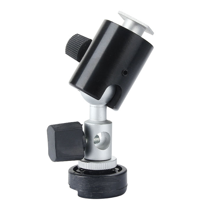 360�Swivel Flash Shoe Umbrella Holder Tripod Bracket For Light Stand C II