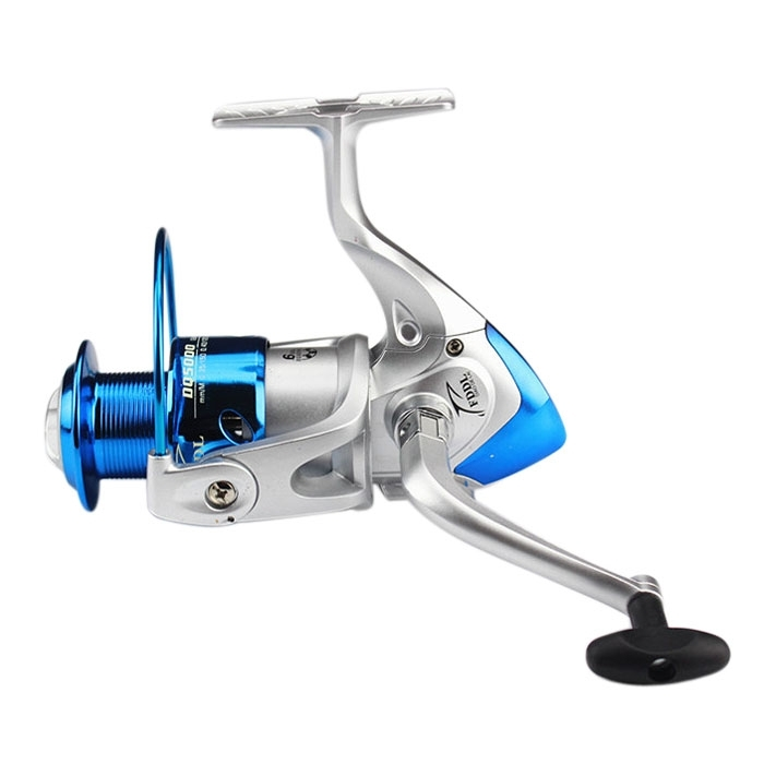Silver Blue Spin Reel Popular Smooth Fishing Spinning Reel 6BB Bearing DQ