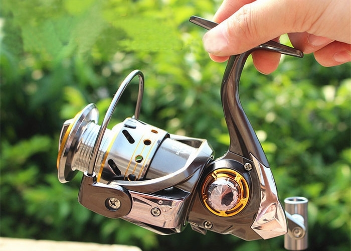 High Power Speed Gear Left/Right Interchangeable Fishing Reel DK 12BB+1RB