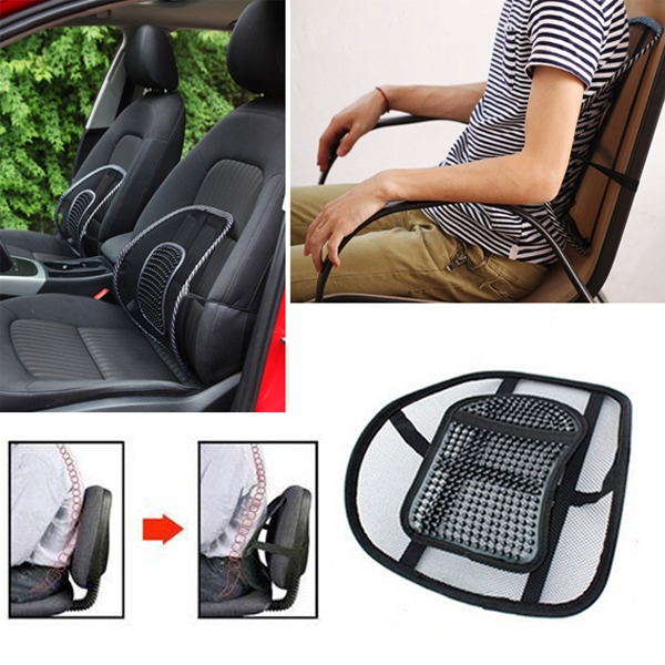 Good Car Seat Office Chair Massage Back Lumbar Support Mesh Cushion Pad - Good Car Seat Office Chair Massage Back Lumbar Support Mesh