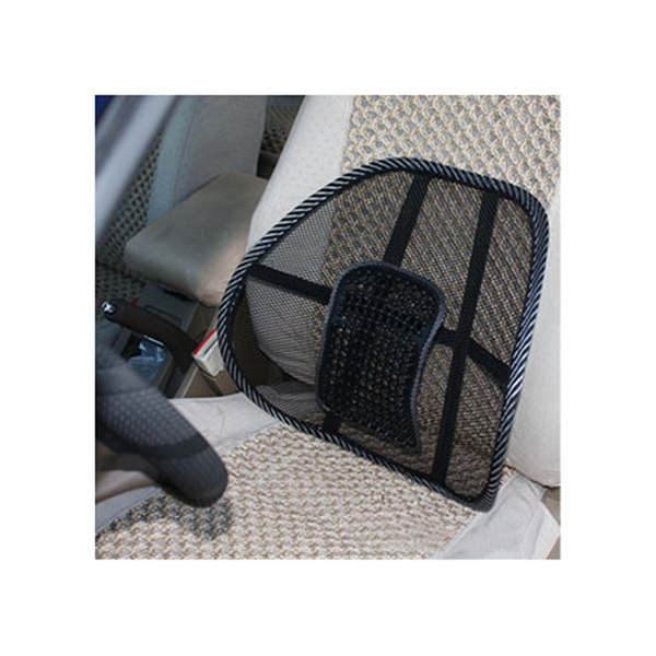 Car Seat Office Chair Massage Back Lumbar Support Mesh Cushion Pad