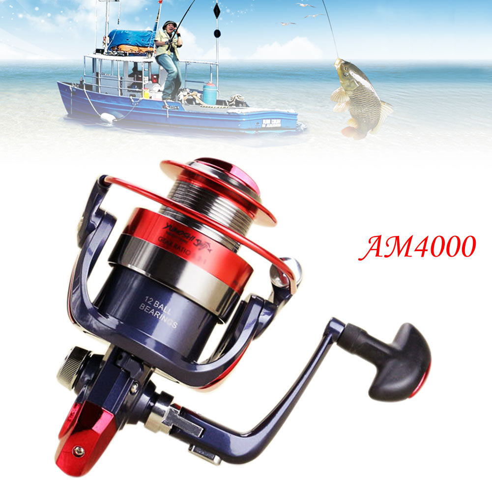 12bb power gear ball bearing sea fish spinning reels for for Ocean fishing gear