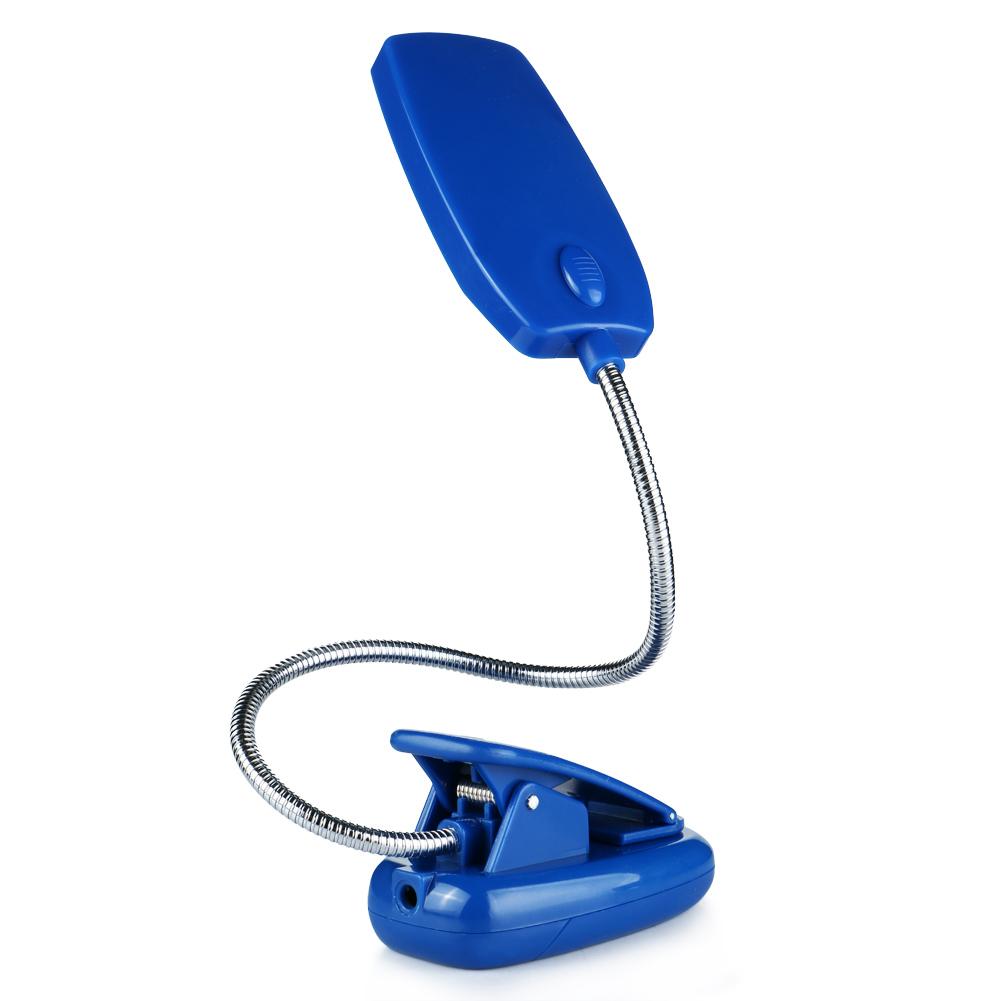 flexible usb battery 28 led light reading lamp clip on bed. Black Bedroom Furniture Sets. Home Design Ideas