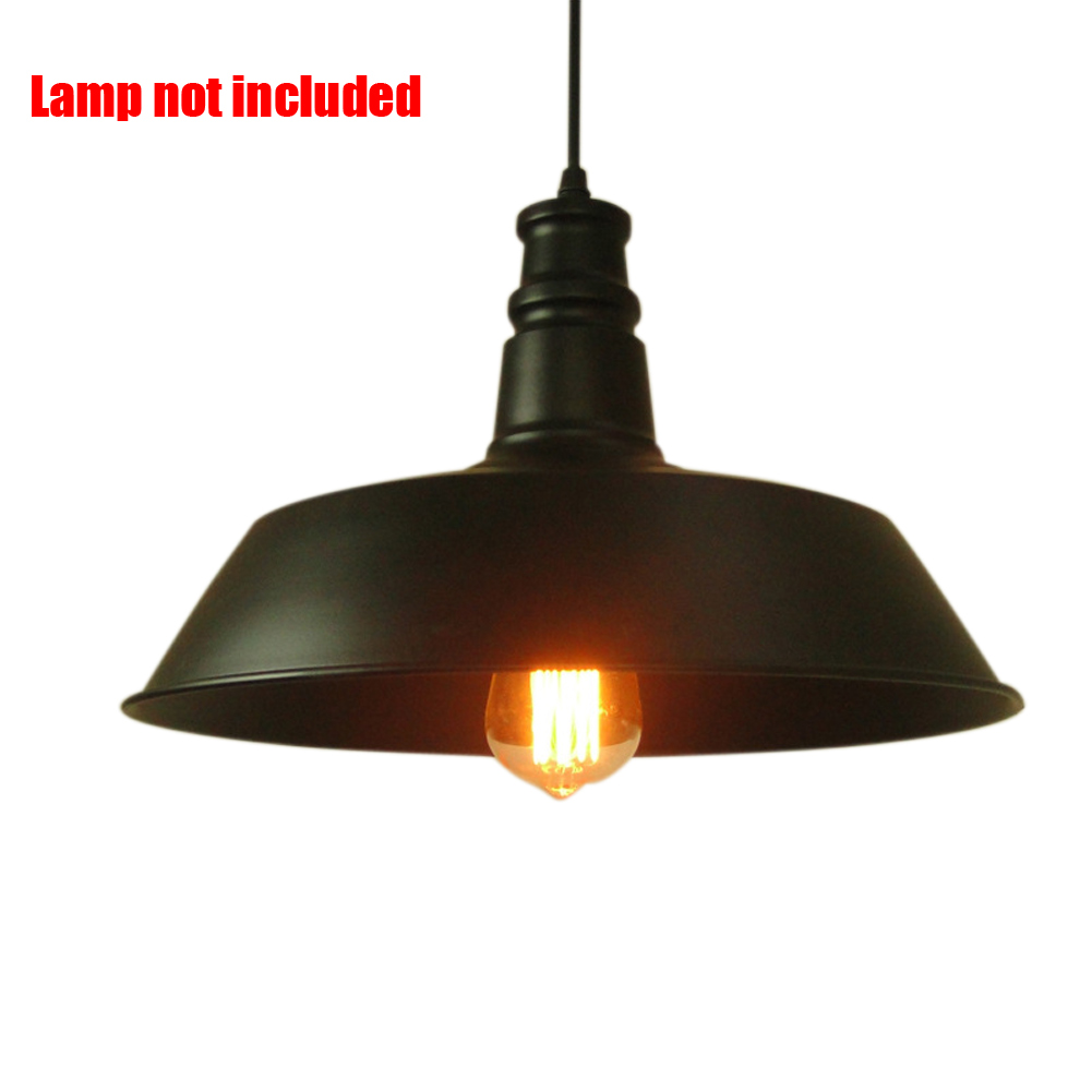Store Light Fixtures: Retro Pendant Ceiling Light Iron Lamp Shade Vintage