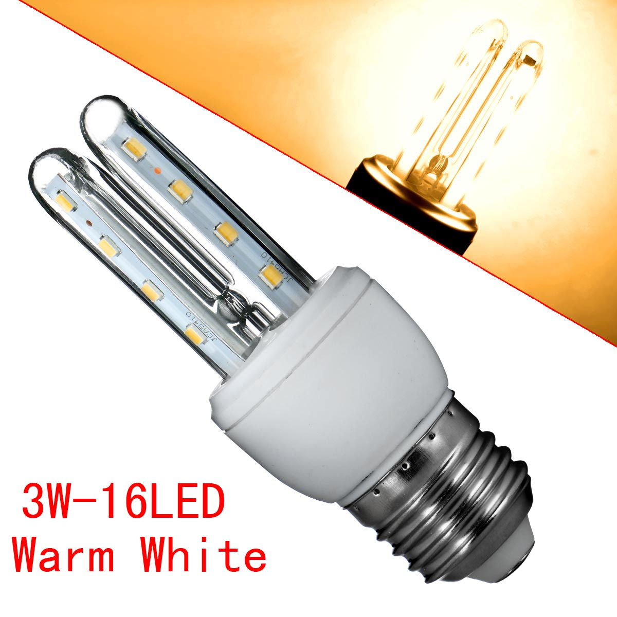 e27 smd 2835 led corn bulb chip u type energy saving lamp bright warm cool white ebay. Black Bedroom Furniture Sets. Home Design Ideas