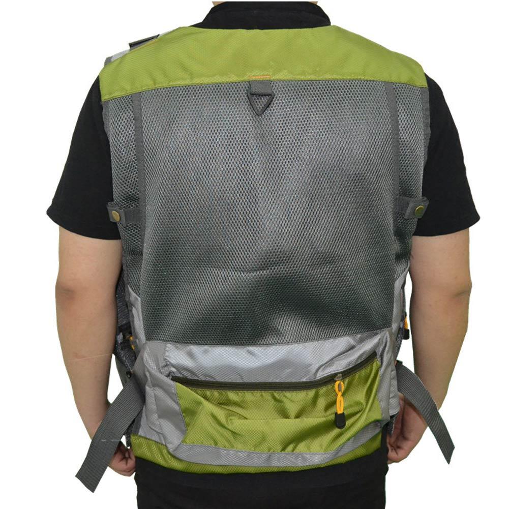 Fashion fly fishing vest mesh vest adjustable size for men for Womens fishing vest