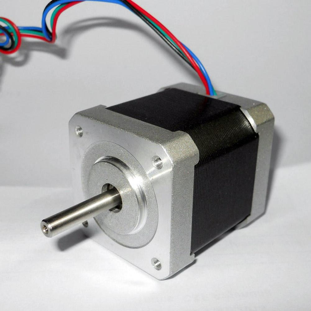 42mm nema17 2 phase 4 wire stepper motor for 3d printer for Three phase stepper motor