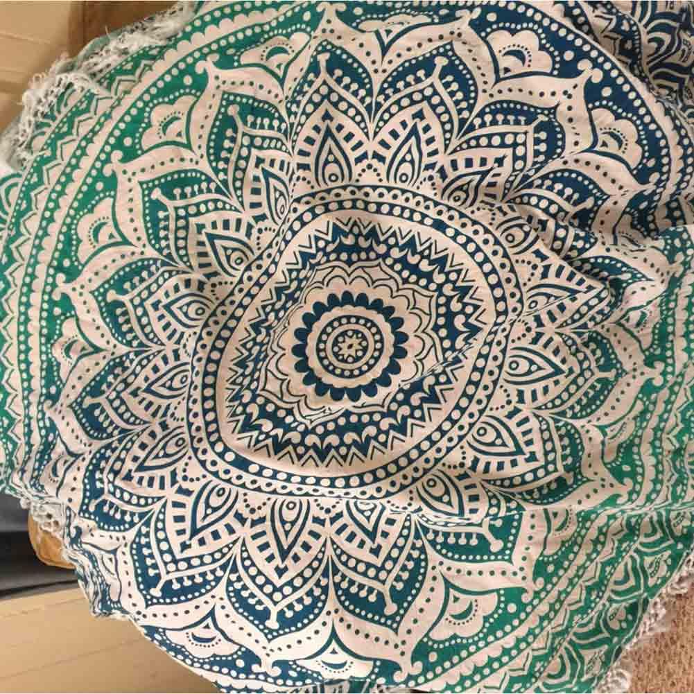 neue blumen mandala wand h ngenden tuch strand handtuch picknick decke schal ebay. Black Bedroom Furniture Sets. Home Design Ideas