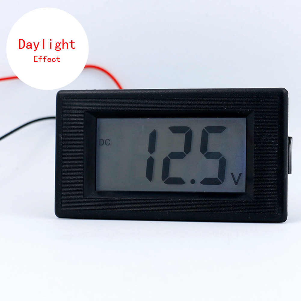 dc4 30v digitale voltmeter volt meter tester blaues lcd display zwei dr hte gro ebay. Black Bedroom Furniture Sets. Home Design Ideas