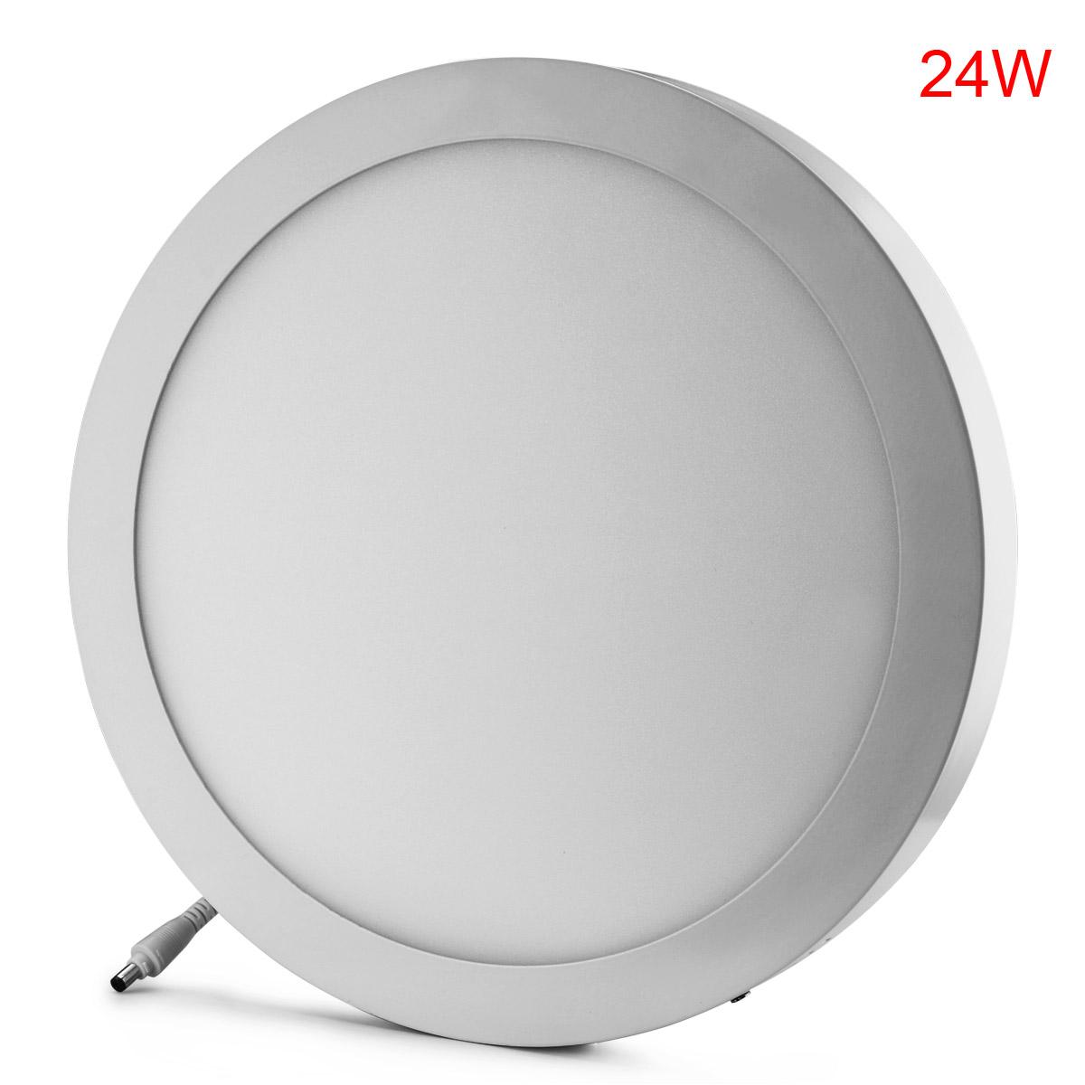 ac85 265v led recessed ceiling flat panel light round square w led driver ebay. Black Bedroom Furniture Sets. Home Design Ideas