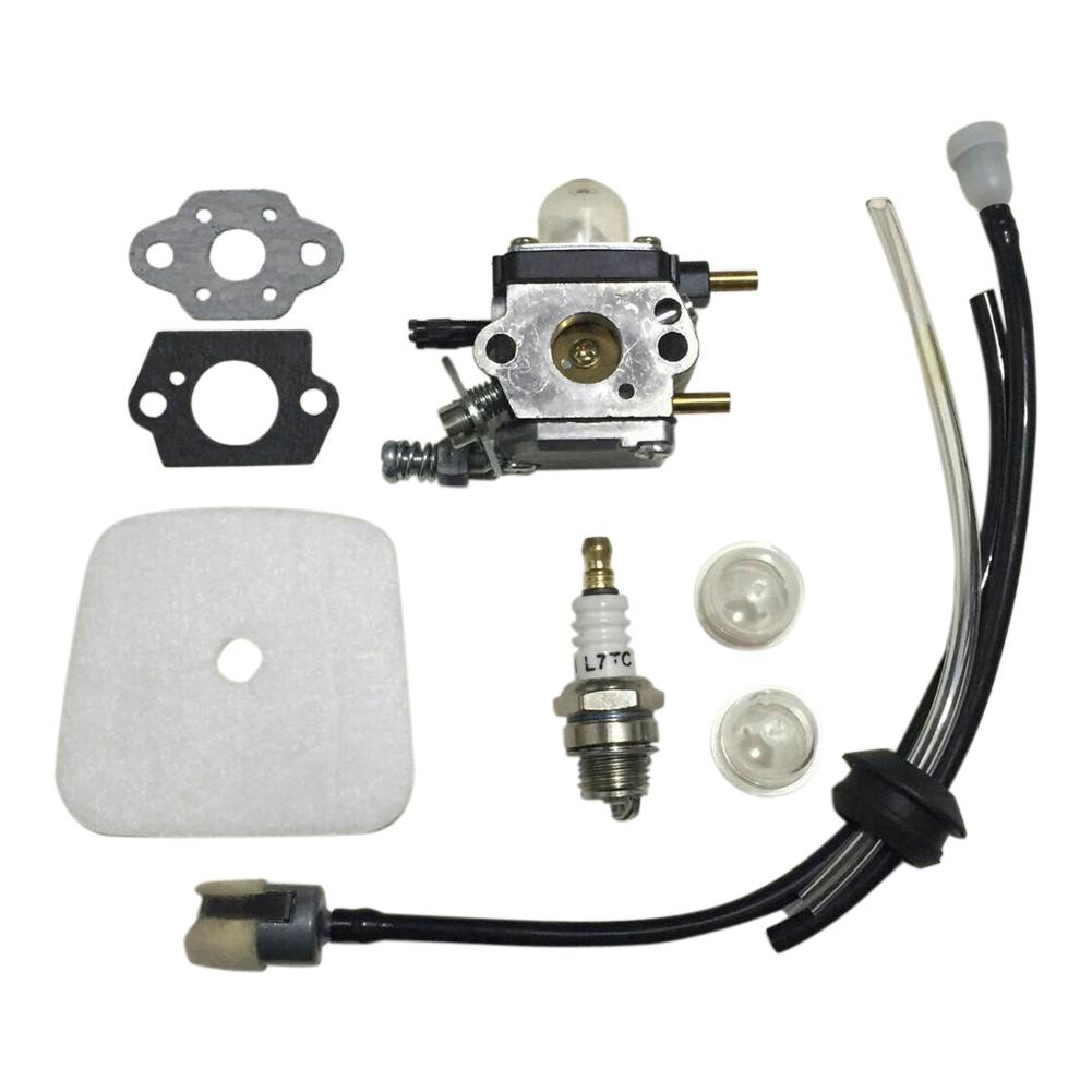 Mantis Tiller Engine Parts : C u k a carburetor kit for mantis tiller e m