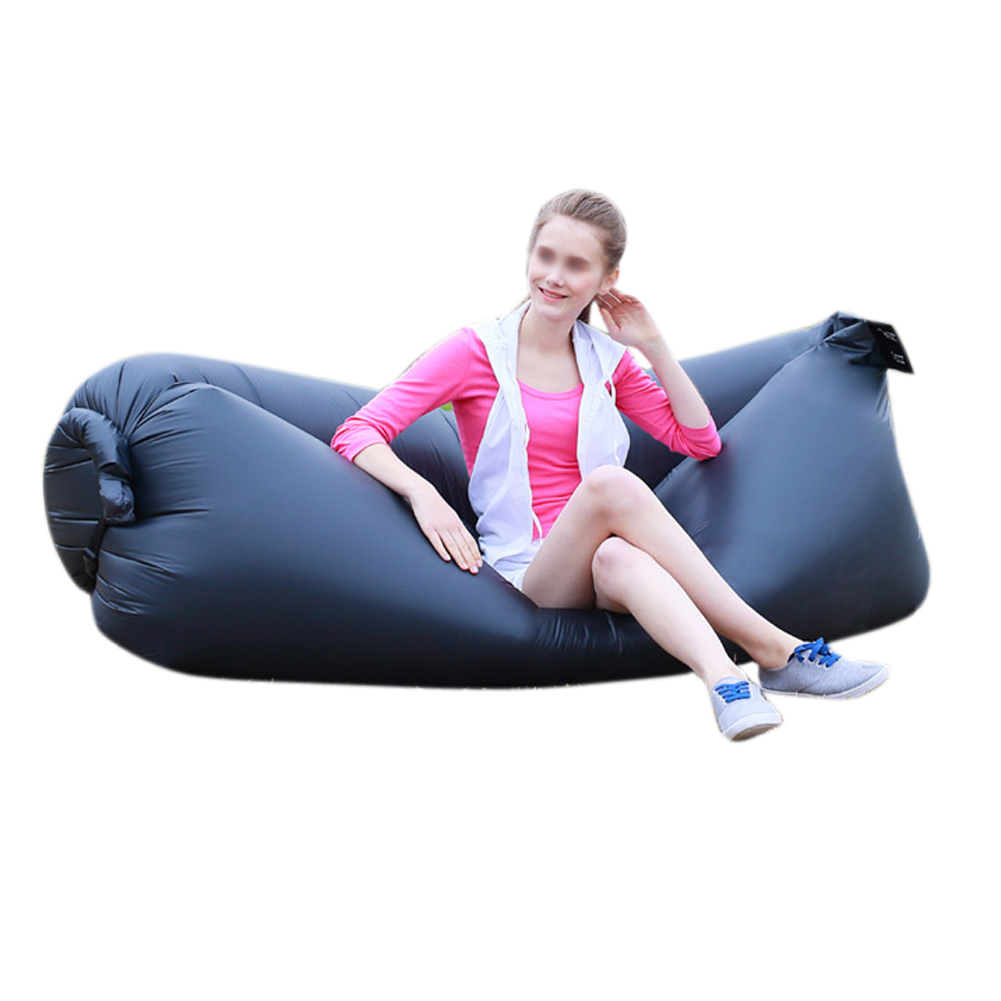 Lazy Inflatable Couch Air Sleeping Sofa Lounger Bag ...