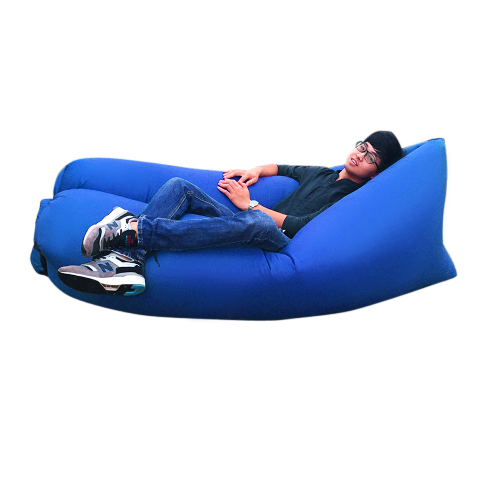 Lazy Inflatable Couch Air Sleeping Sofa Lounger Bag