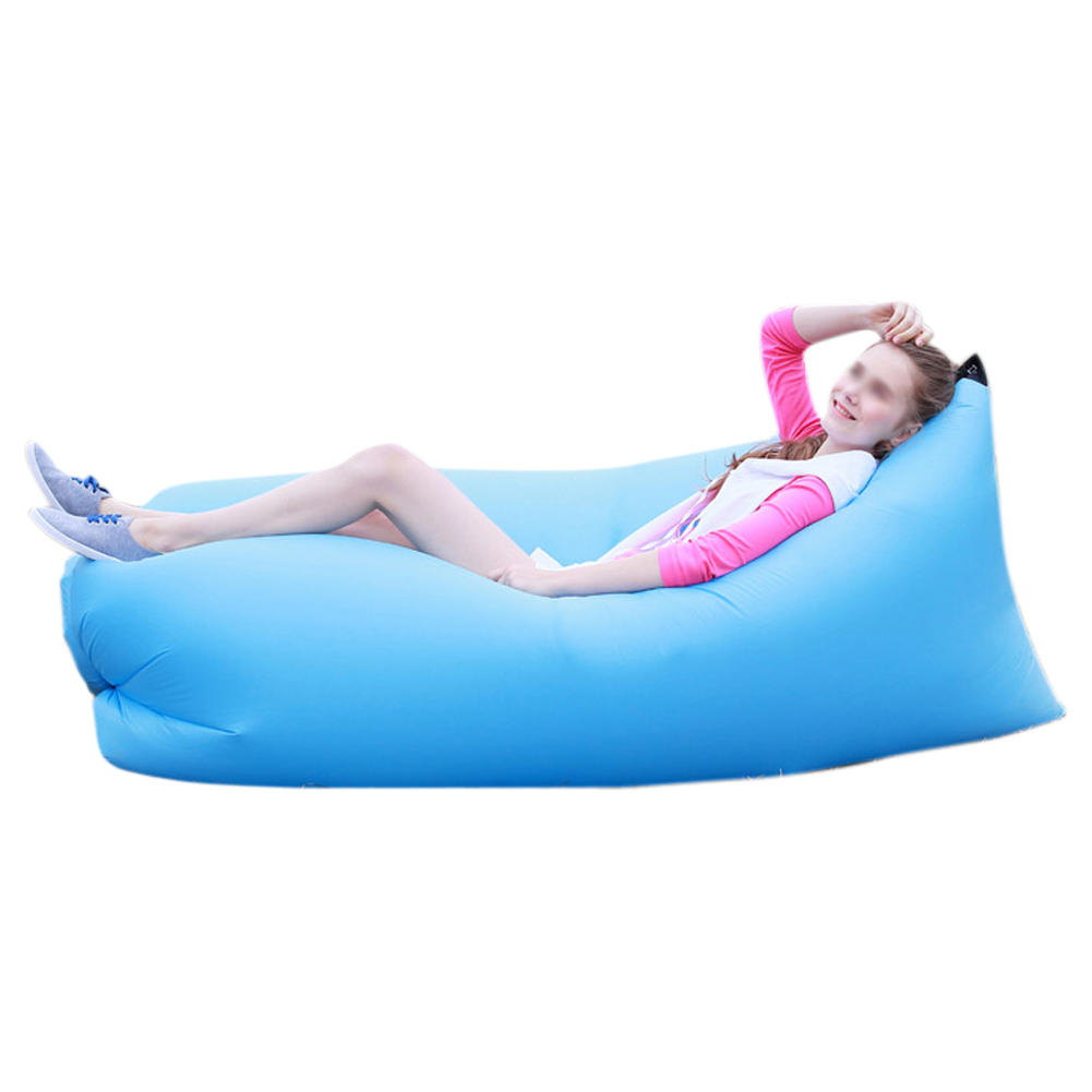 Inflatable Sofa Air Bed Lounger: Lazy Inflatable Couch Air Sleeping Sofa Lounger Bag