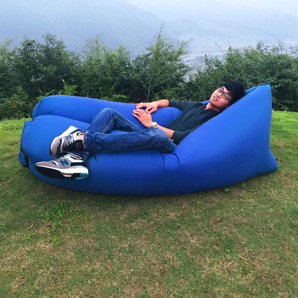 Lazy Inflatable Couch Air Sleeping Sofa Lounger Bag  : 20160708201023470 from www.ebay.com size 1001 x 1001 jpeg 128kB