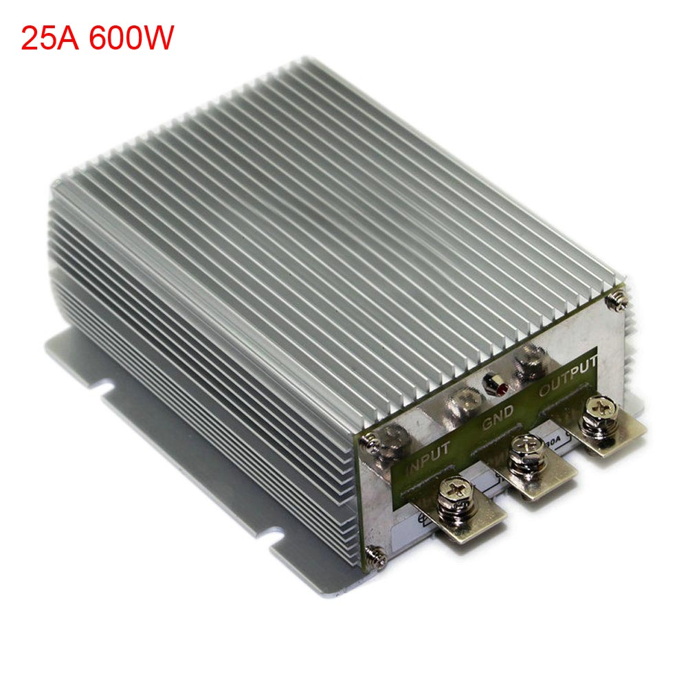 dc 12v boost to dc 24v 25a 30a 40a power supply converter module waterproof ebay. Black Bedroom Furniture Sets. Home Design Ideas