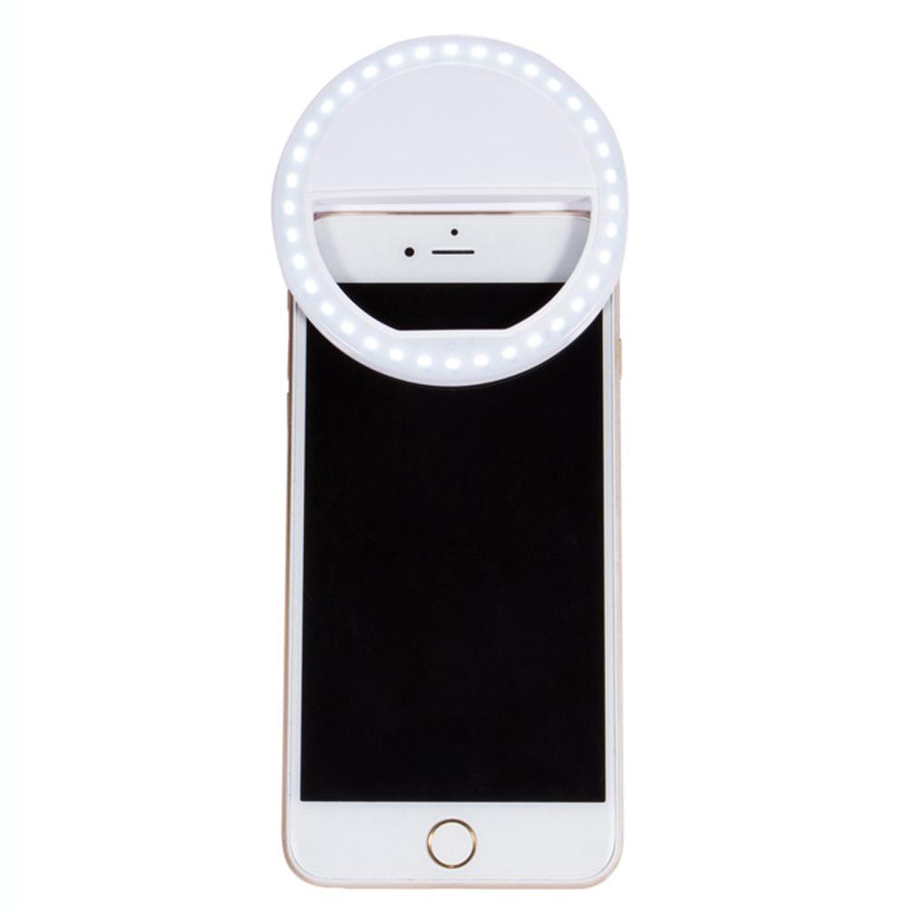 selfie portable led ring fill light camera photography for. Black Bedroom Furniture Sets. Home Design Ideas