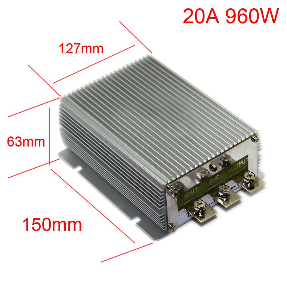 Dc24v Step Up 48v 10a 20a 30a 40a Power Supply Converter