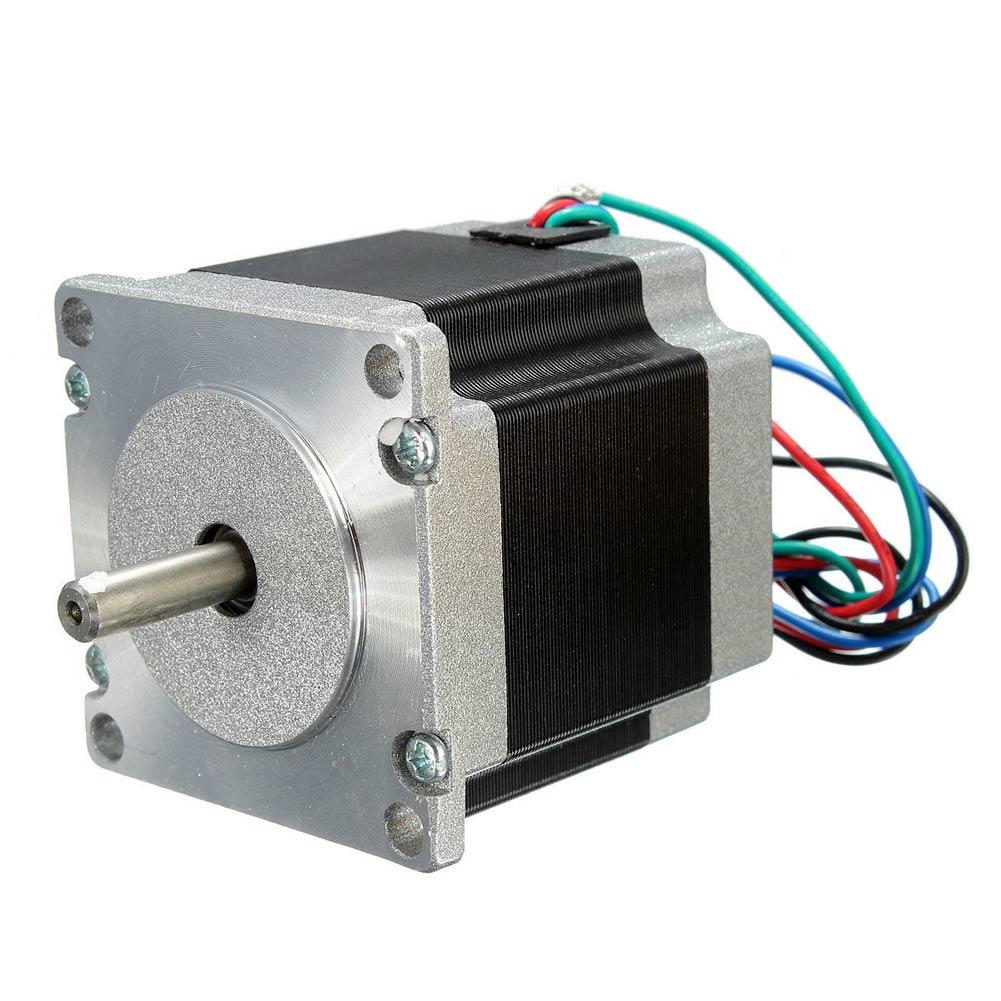 56mm 24v 2 phase 4 wire nema23 stepper motor 1 8 degree for Three phase stepper motor